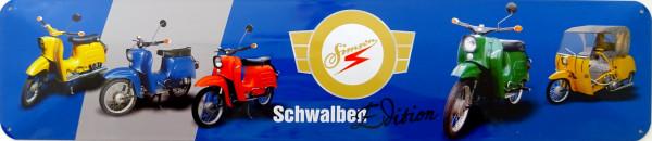 Straßenschild Simson Schwalbe Edition