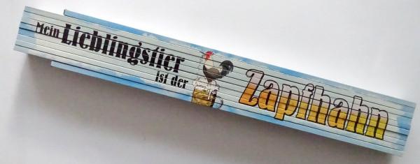 Zollstock 2m Mein Lieblingstier ist der Zapfhahn