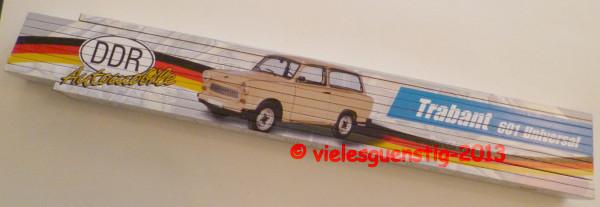 Zollstock 2m DDR Automobile Trabant 601 Universal