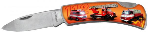Taschenmesser - Feuerwehr Fahrzeuge