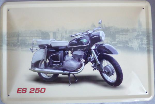 Blechschild ES 250