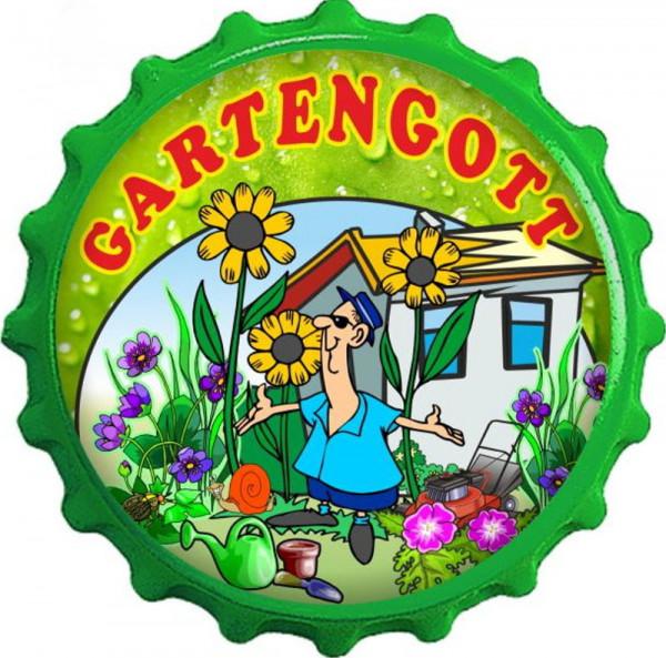 Kapselheber Gartengott