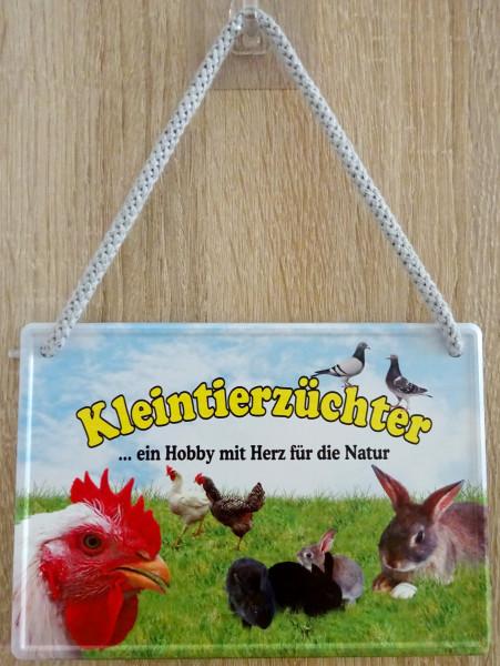 Hängeschild - Kleintierzüchter