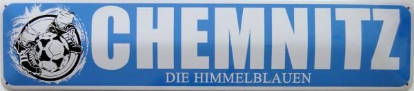 Straßenschild Chemnitz die Himmelblauen