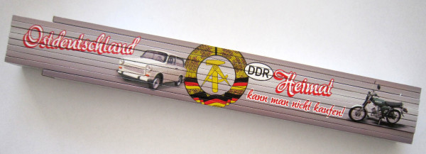 Zollstock 2m Ostdeutschland Heimat (Trabant Kombi S51)