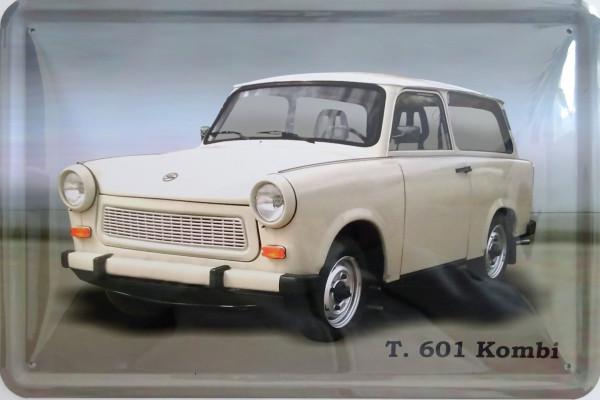 Blechschild Trabant 601 Kombi