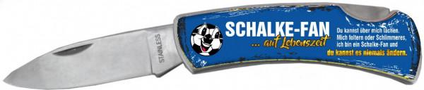 Taschenmesser - Schalke Fan