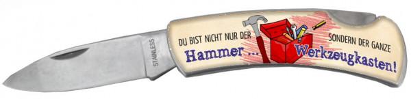 Taschenmesser - Du bist nicht der Hammer - der ganze Werkzeugkasten