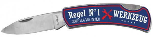 Taschenmesser - Regel Nr. 1 - Hände weg mein Werkzeug