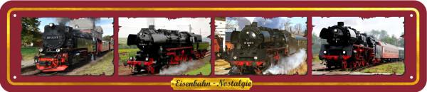 Straßenschild Eisenbahn Nostalgie