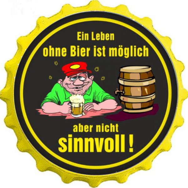 Kapselheber Ein Leben ohne Bier ist möglich
