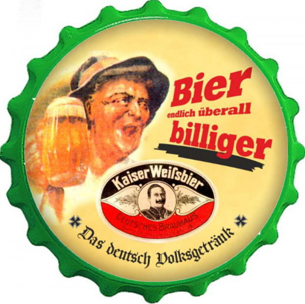 Kapselheber Bier endlich überall billiger