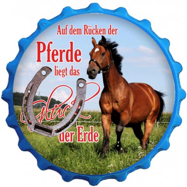 Kapselheber Das Glück der Erde liegt auf dem Rücken der Pferde (2)