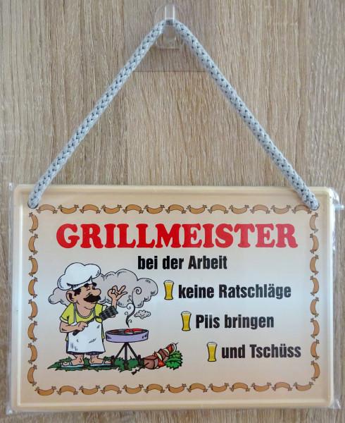 Hängeschild - Grillmeister